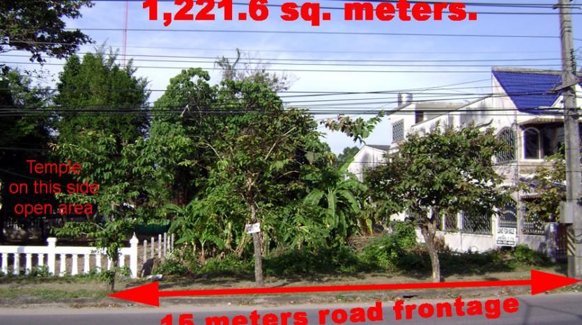 Thepkasattri Road - 1,221.6 square meters of land